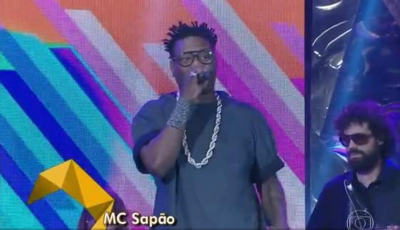 MC Sapão no Altas Horas